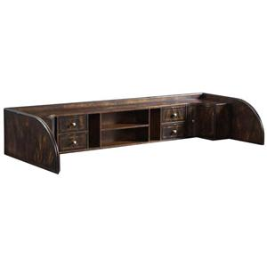 6 Drawer Writing Desk Hutch