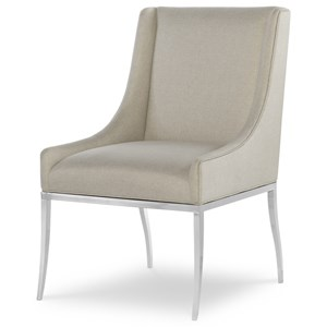 Upholstered Contemporary Dining Side Chair