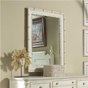 Beveled Bamboo Mirror