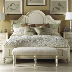 Fine Furniture Design Summer Home Queen Panel Bed