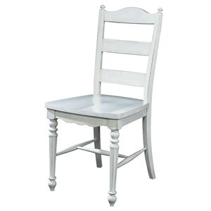 Fine Furniture Design Summer Home Ladderback Side Chair