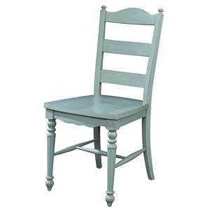 Fine Furniture Design Summer Home Ladderback Side Chair