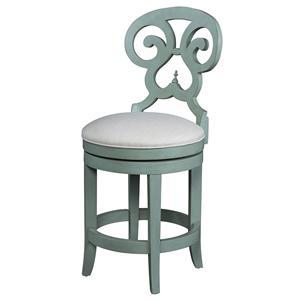 Fine Furniture Design Summer Home Swivel Counter Stool