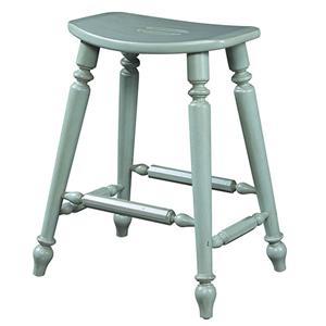 Fine Furniture Design Summer Home Saddle Counter Stool