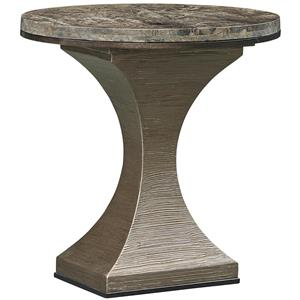 Maya End Table with Marble Top