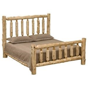 Traditional Log Bed