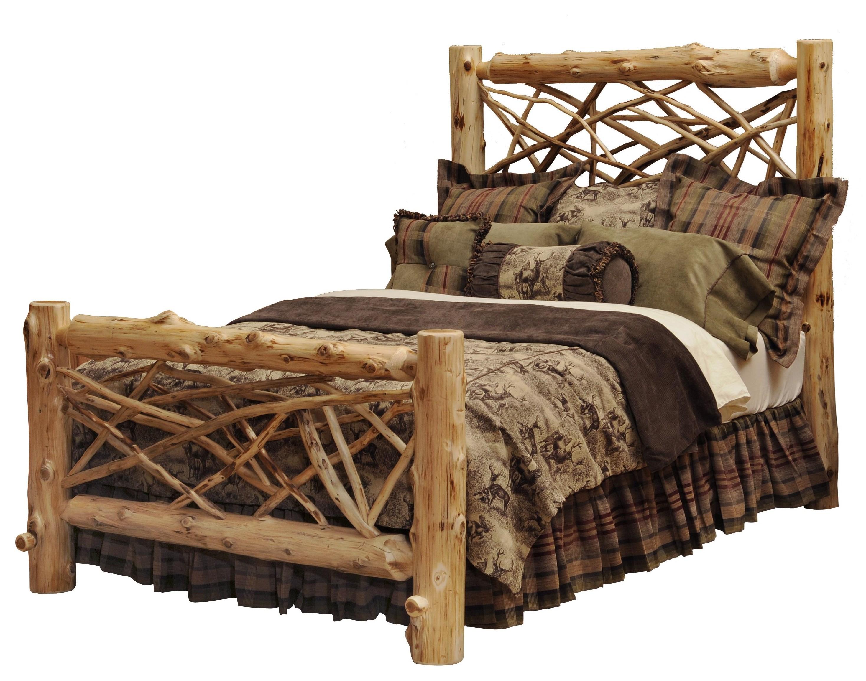 Complete Queen Twig Bed