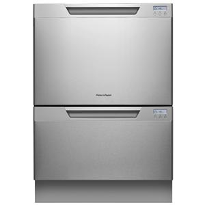 Fisher and Paykel DishDrawer Double Tall DishDrawer™ with Water Softener