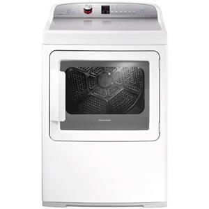 Fisher and Paykel Electric Dryers 7 cu ft AeroCare Front Load Gas Dryer