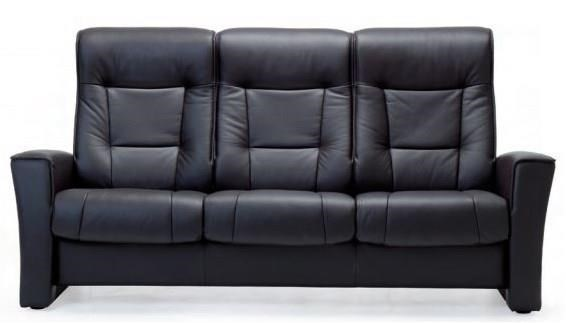 Aalesund Reclining 3 Seat Sofa by Fjords by Hjellegjerde at Reid's Furniture