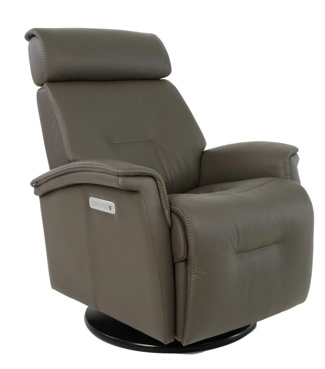 Rome Power Recliner by Fjords by Hjellegjerde at Saugerties Furniture Mart