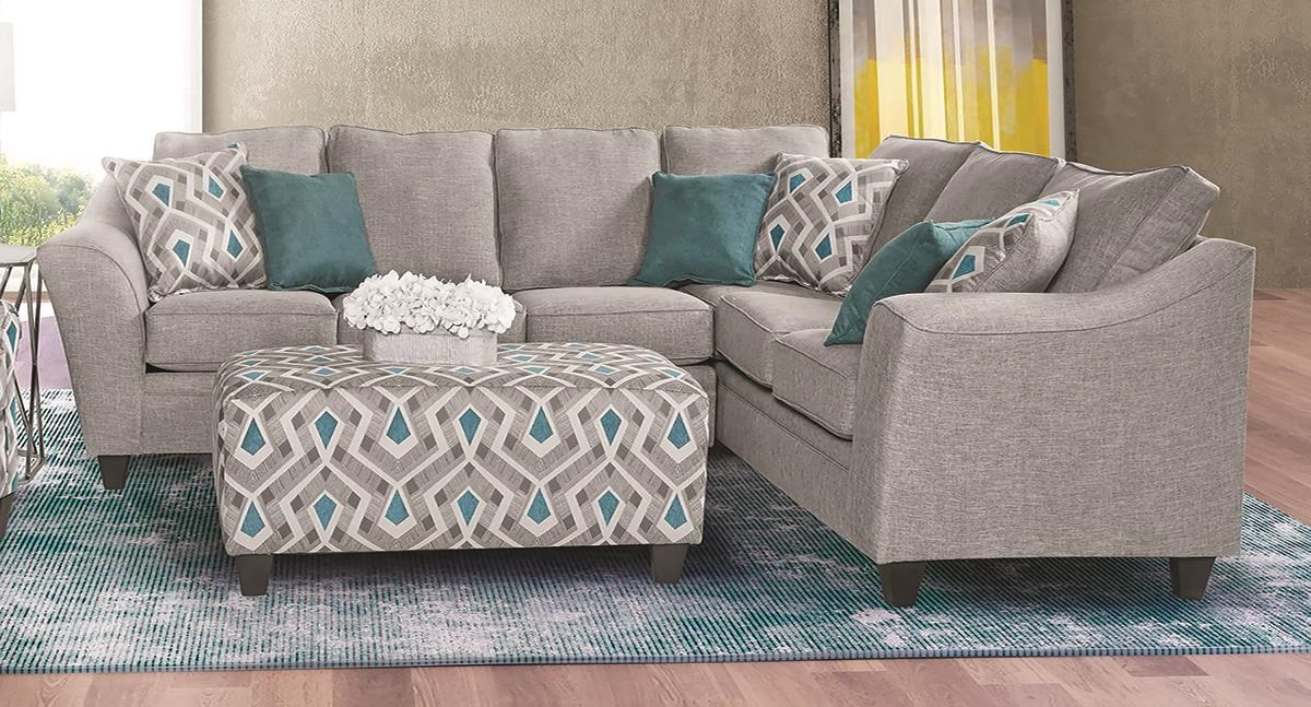 CECE 2 Piece Sectional by Flair at Darvin Furniture