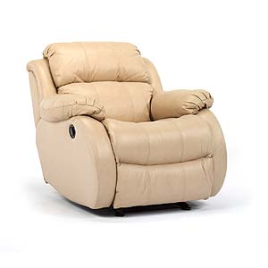 Glider Recliner with Bustle Back