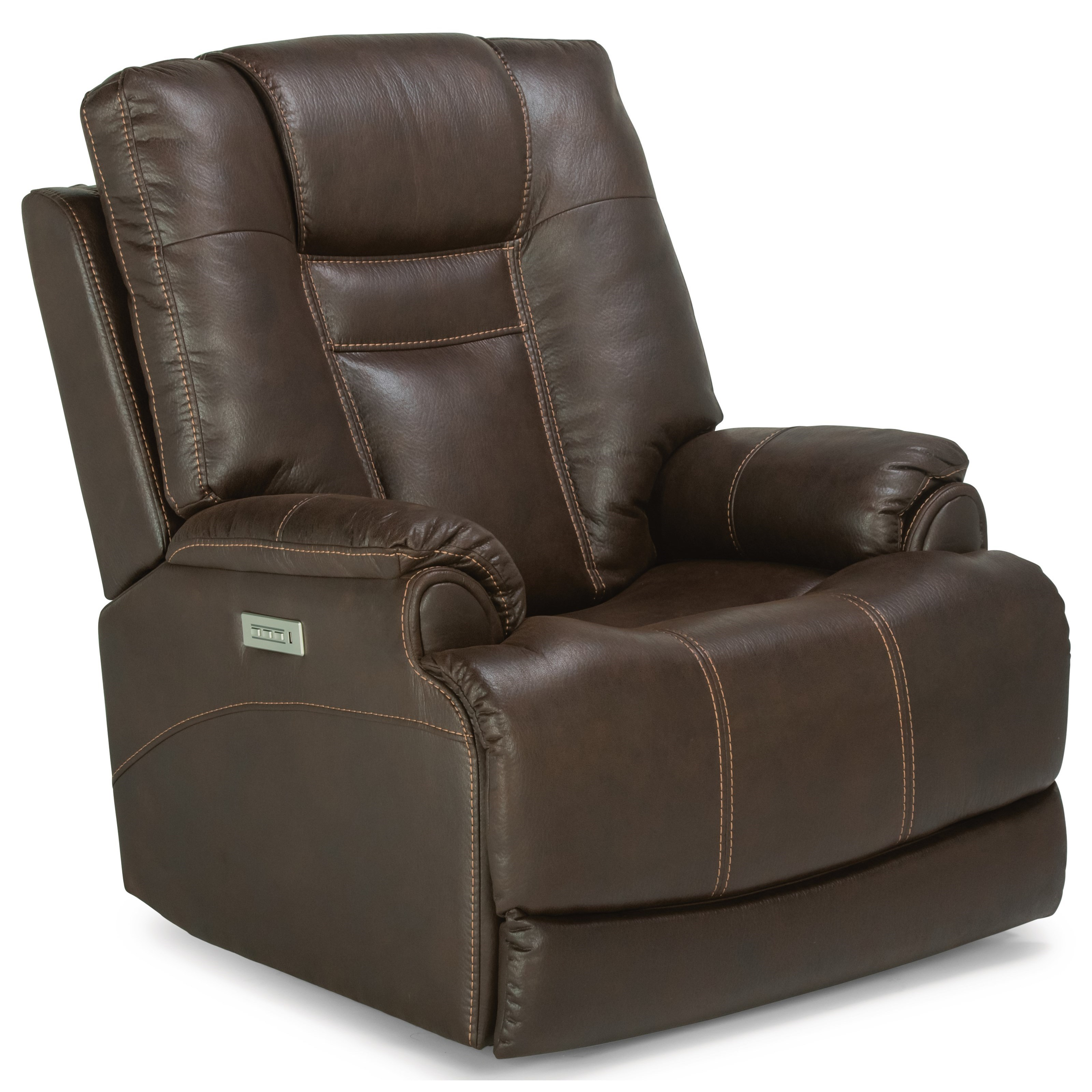 Marley Power Recliner with Power Headrest by Flexsteel at Rooms for Less