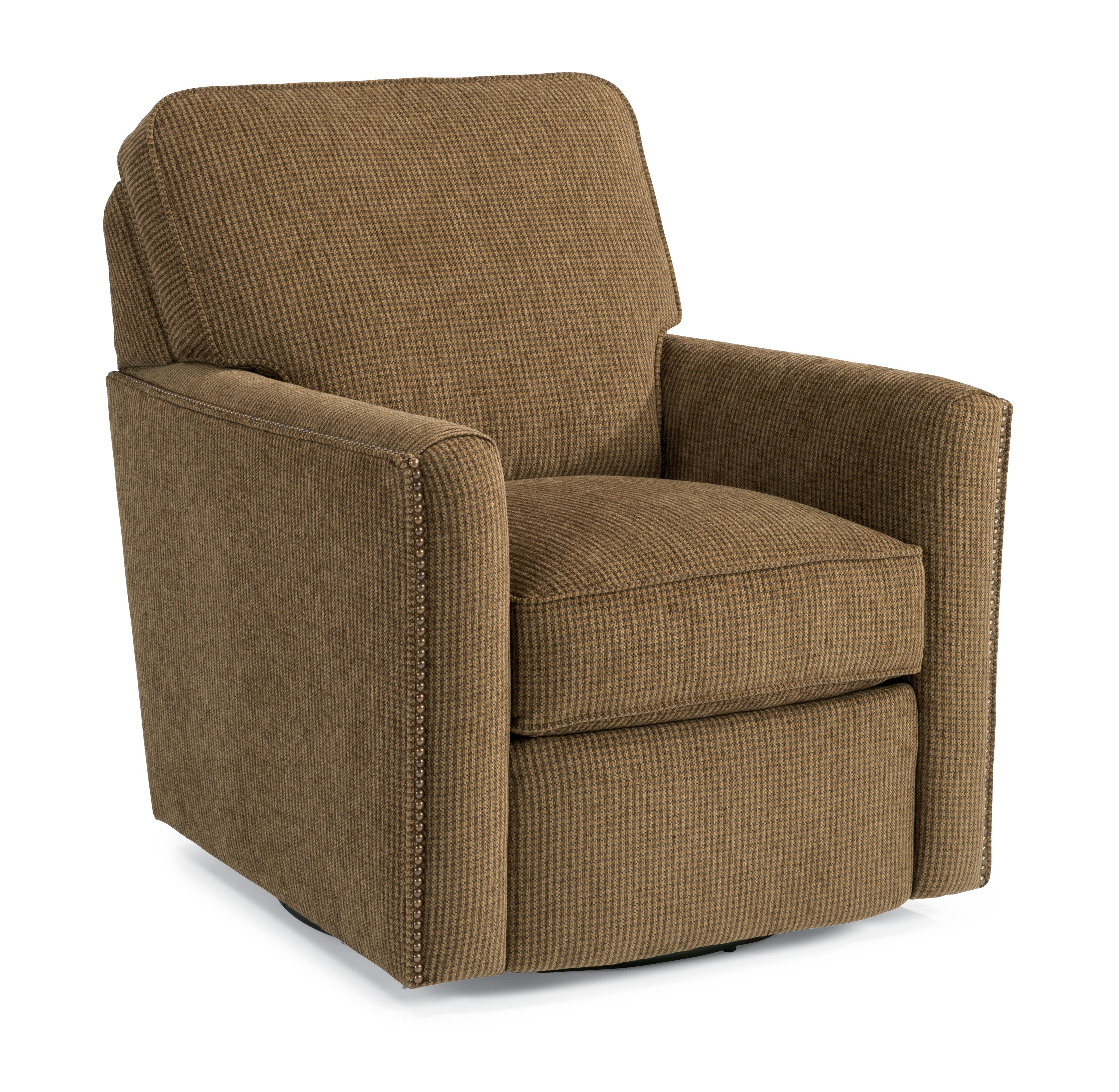 Accents Swivel Chair by Flexsteel at A1 Furniture & Mattress