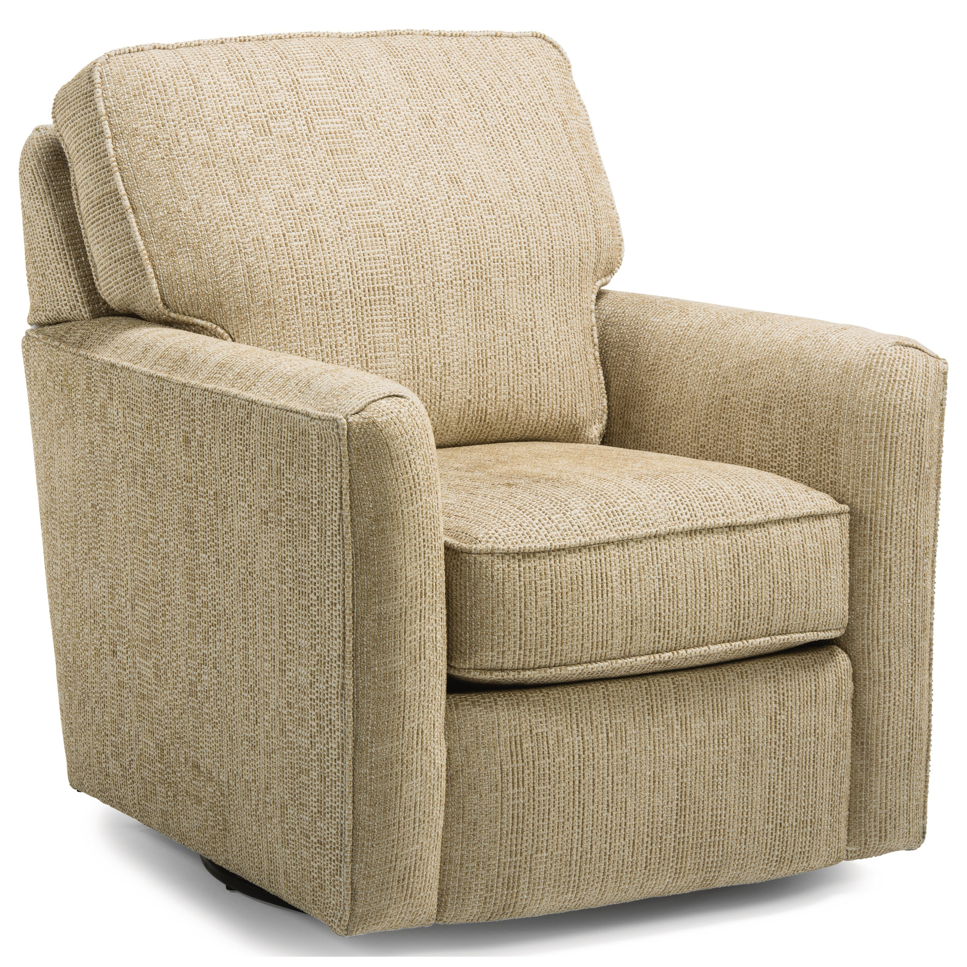 Accents Swivel Chair by Flexsteel at Steger's Furniture