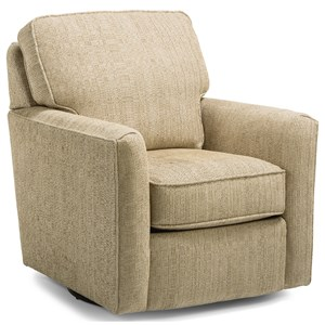 Swivel Chair with Optional Nailheads