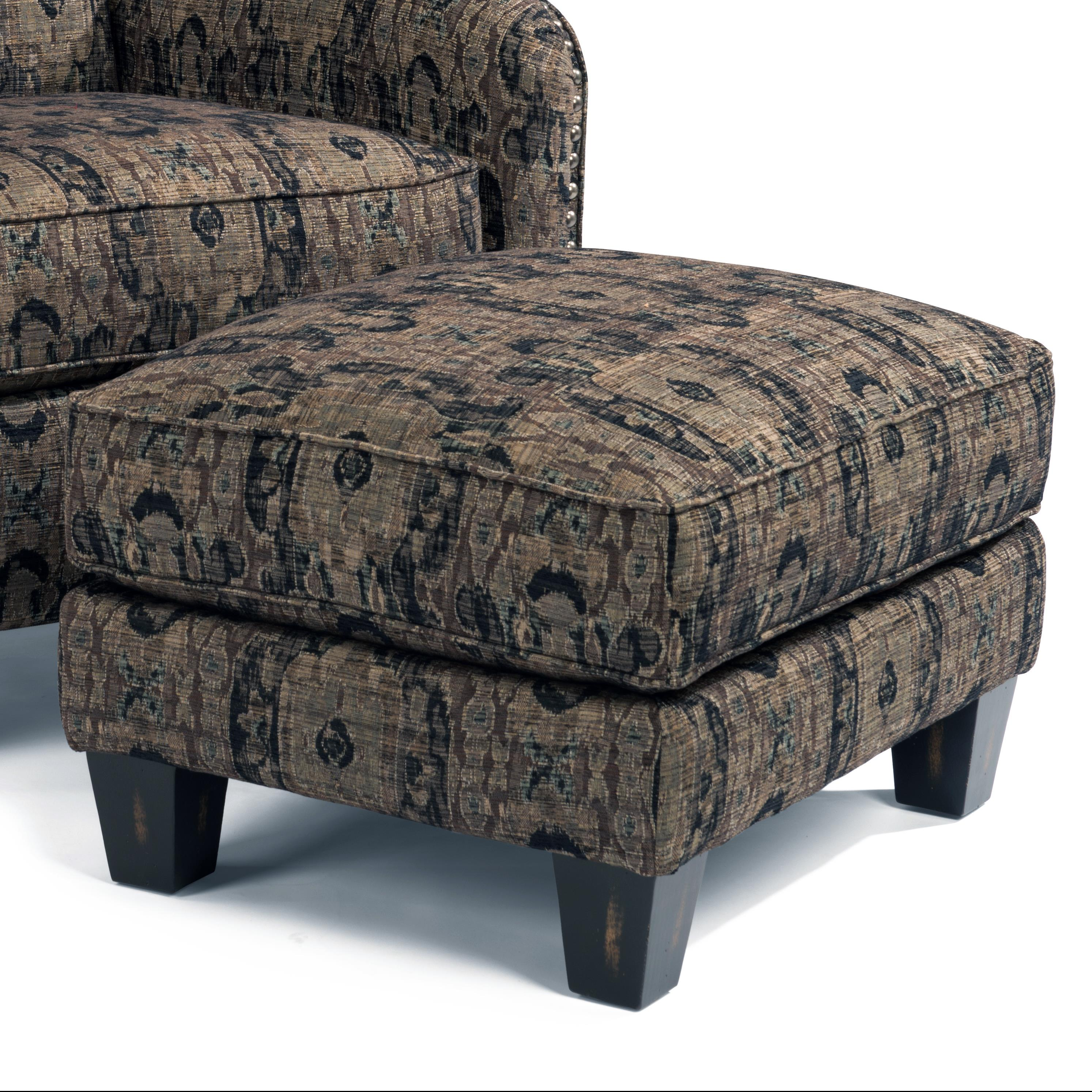 Accents Perth Ottoman by Flexsteel at Furniture and ApplianceMart