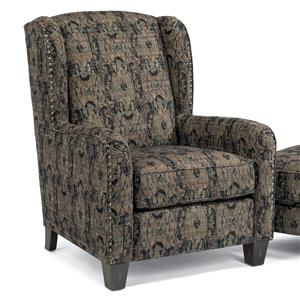 Perth Wing Chair with Nailhead Border