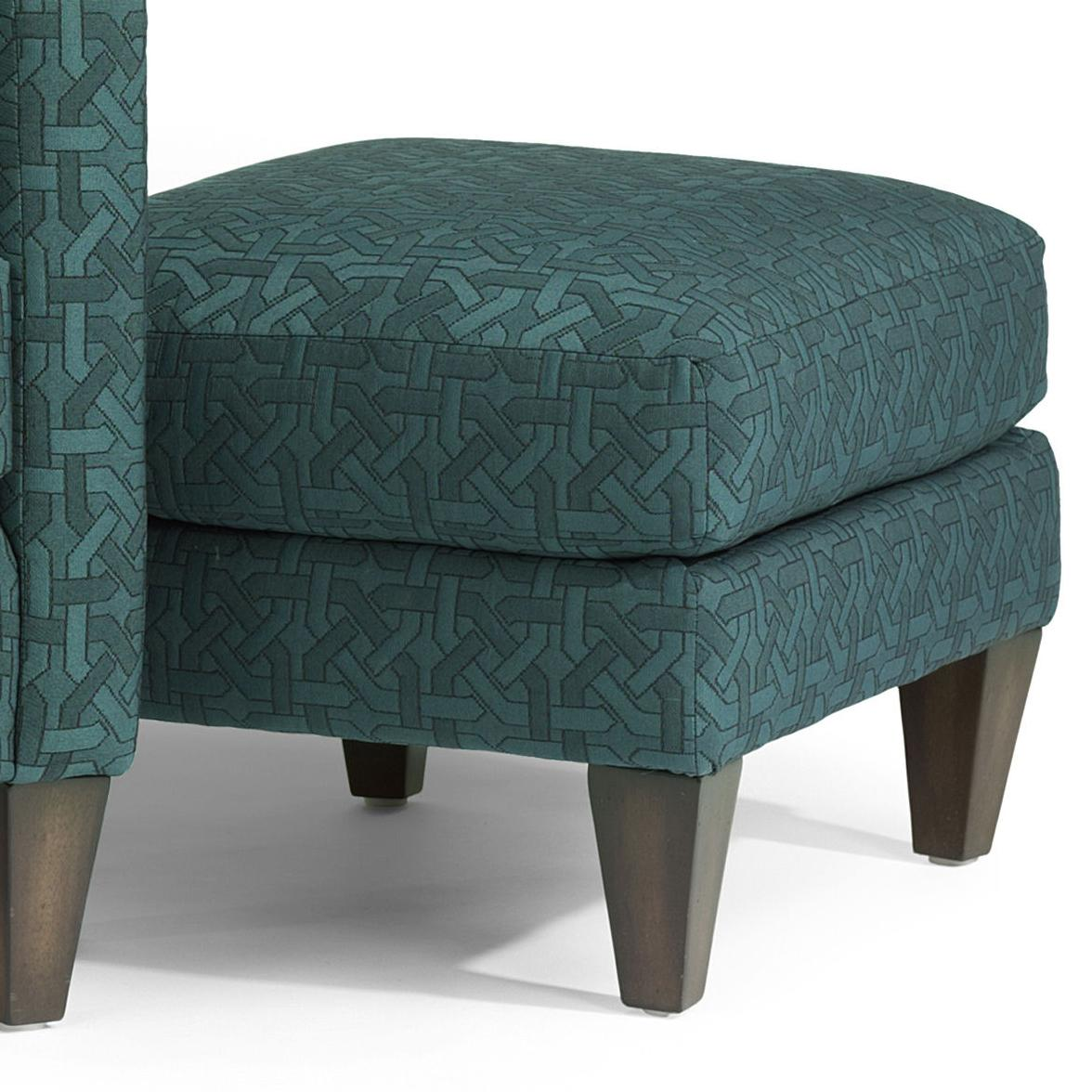 Accents Cute Ottoman by Flexsteel at O'Dunk & O'Bright Furniture