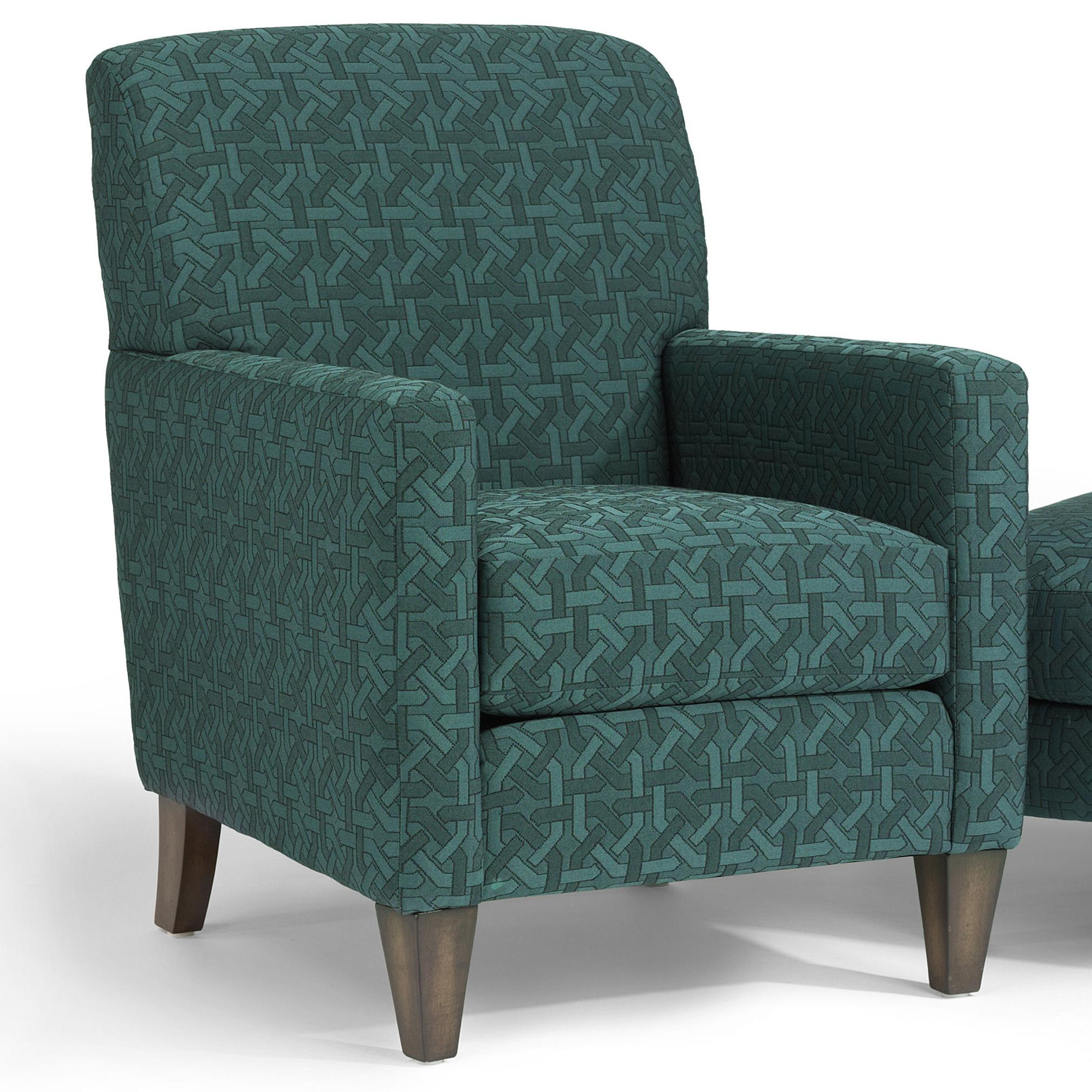 Accents Cute Chair by Flexsteel at Steger's Furniture