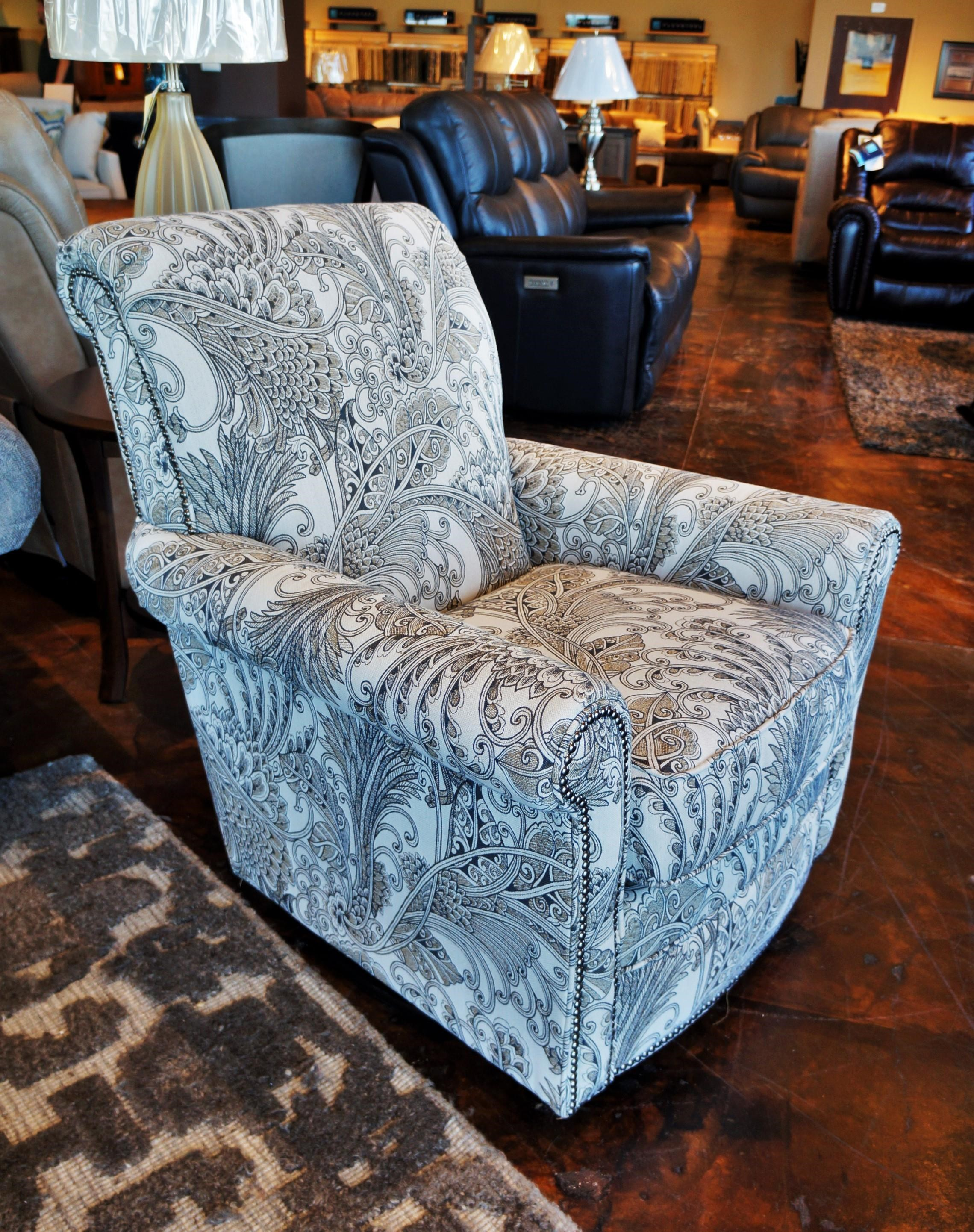 Accents Plaza Swivel Glider by Flexsteel at Mueller Furniture