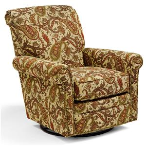 Flexsteel Accents Plaza Swivel Glider