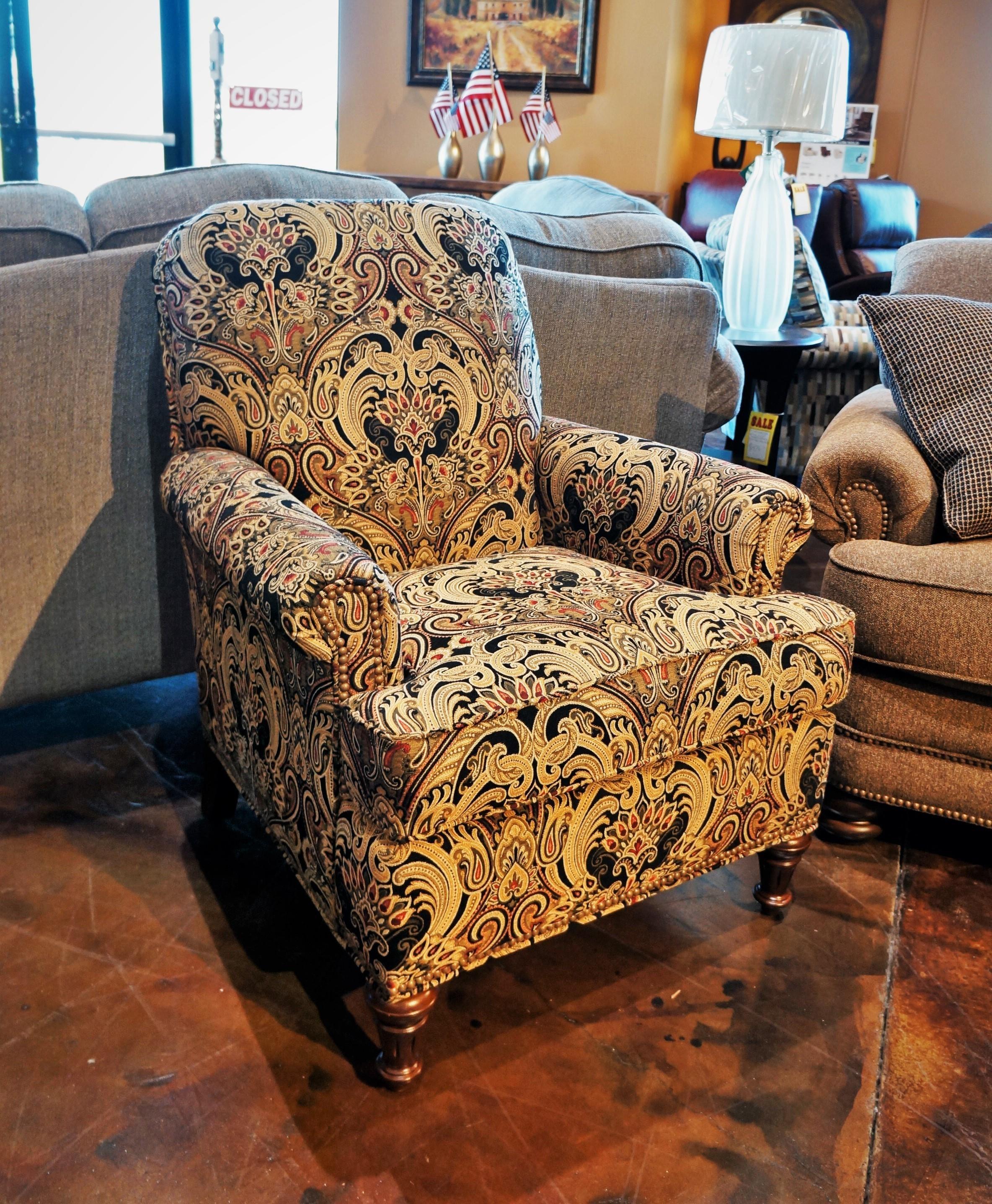 Accents Flemington Chair by Flexsteel at Mueller Furniture