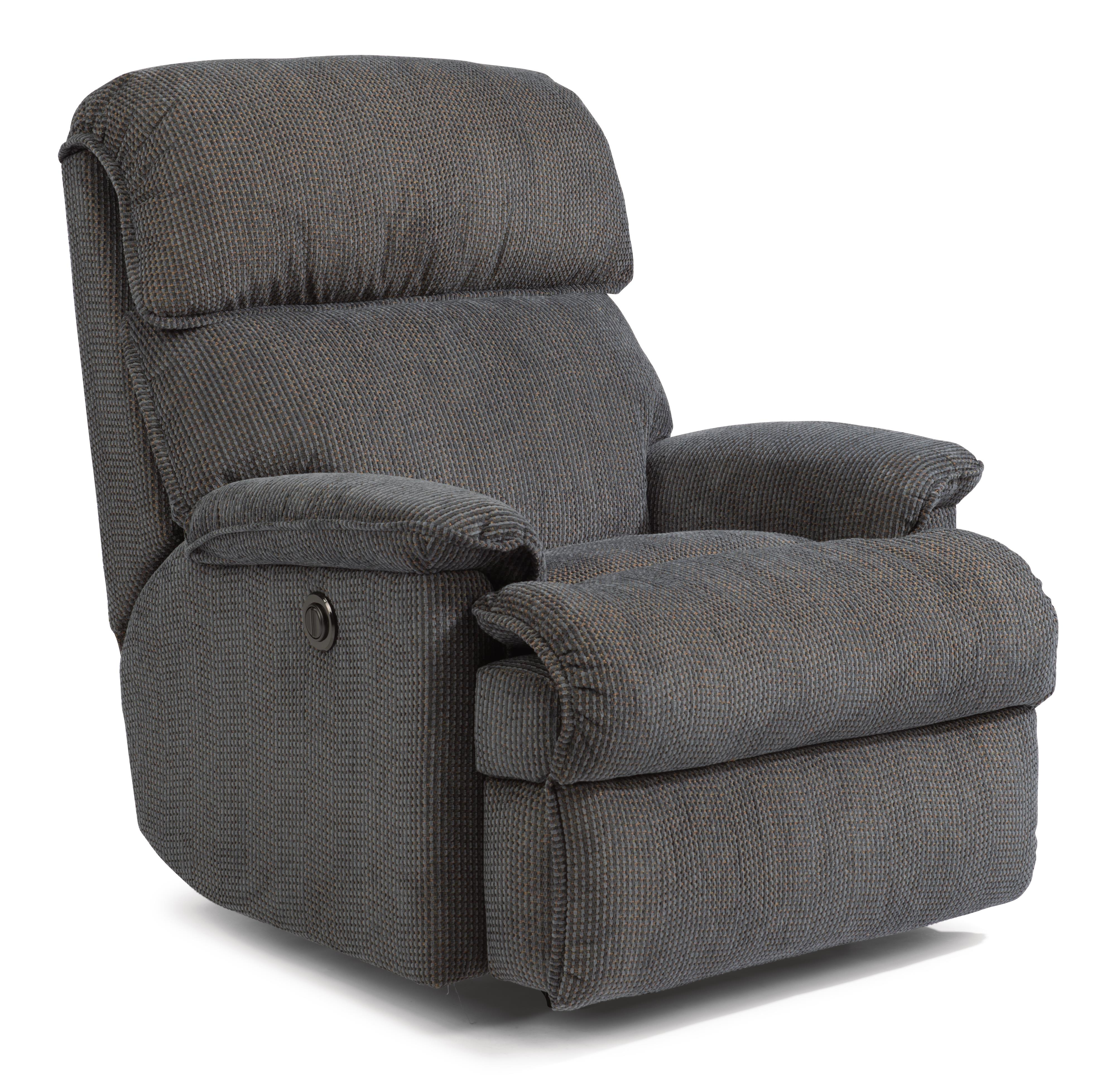 Accents Geneva Power Rocker Recliner by Flexsteel at Mueller Furniture