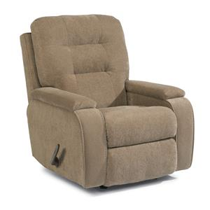 Kerrie Recliner with Channeled Back