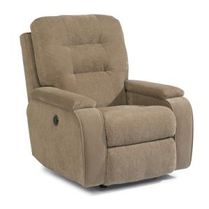 Kerrie Power Wall-Saver Recliner with Channeled Back
