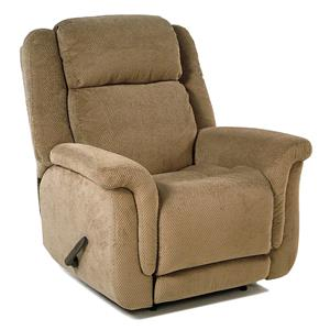 Wall Recliner with Plush Pillow Arms