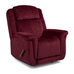 Updraft Rocker Recliner with Plush Pillow Arms