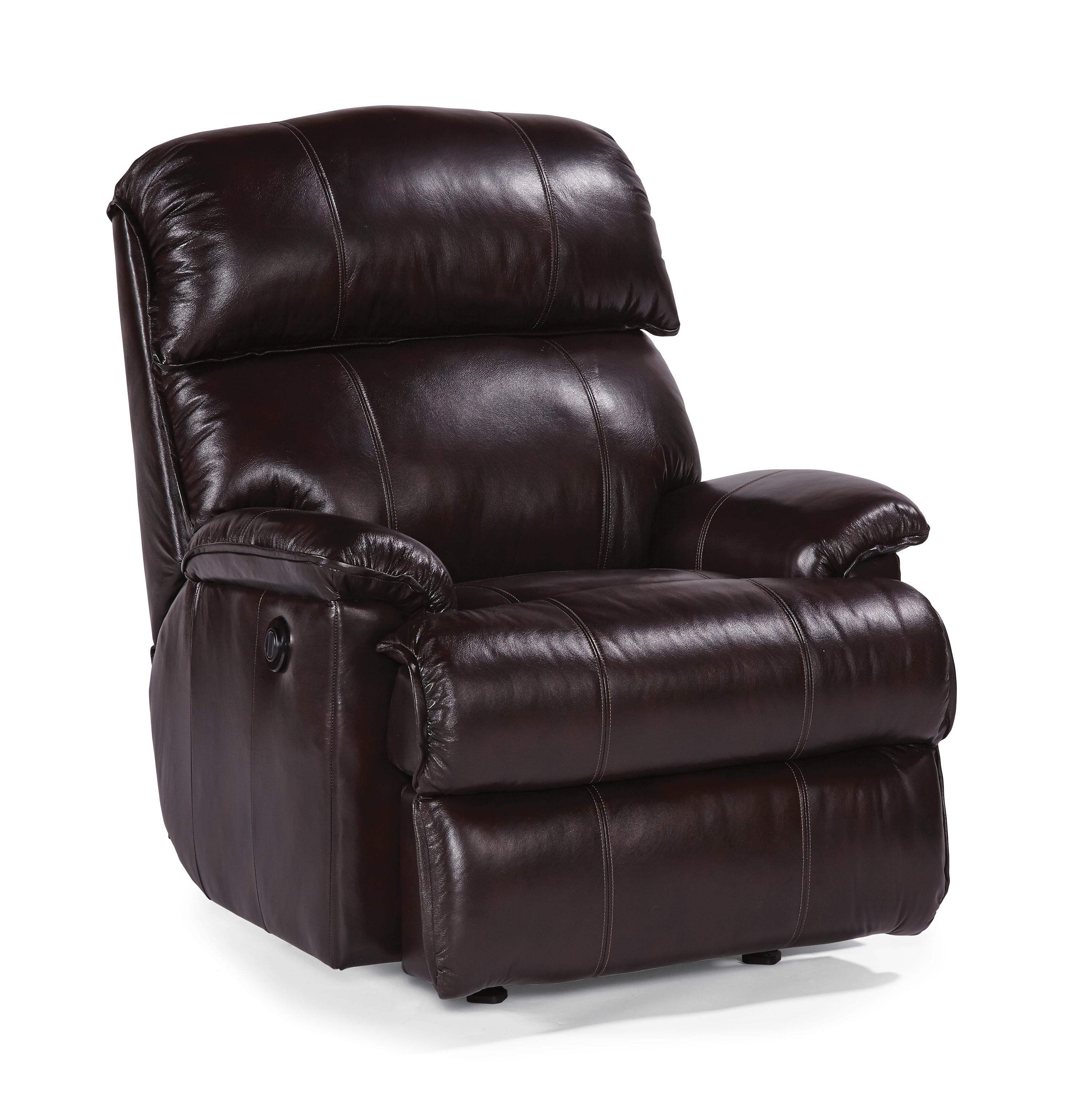 Accents Geneva Power Rocker Recliner by Flexsteel at Factory Direct Furniture