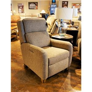 Power High Leg Recliner with Power Adjustable Headrest and USB Port