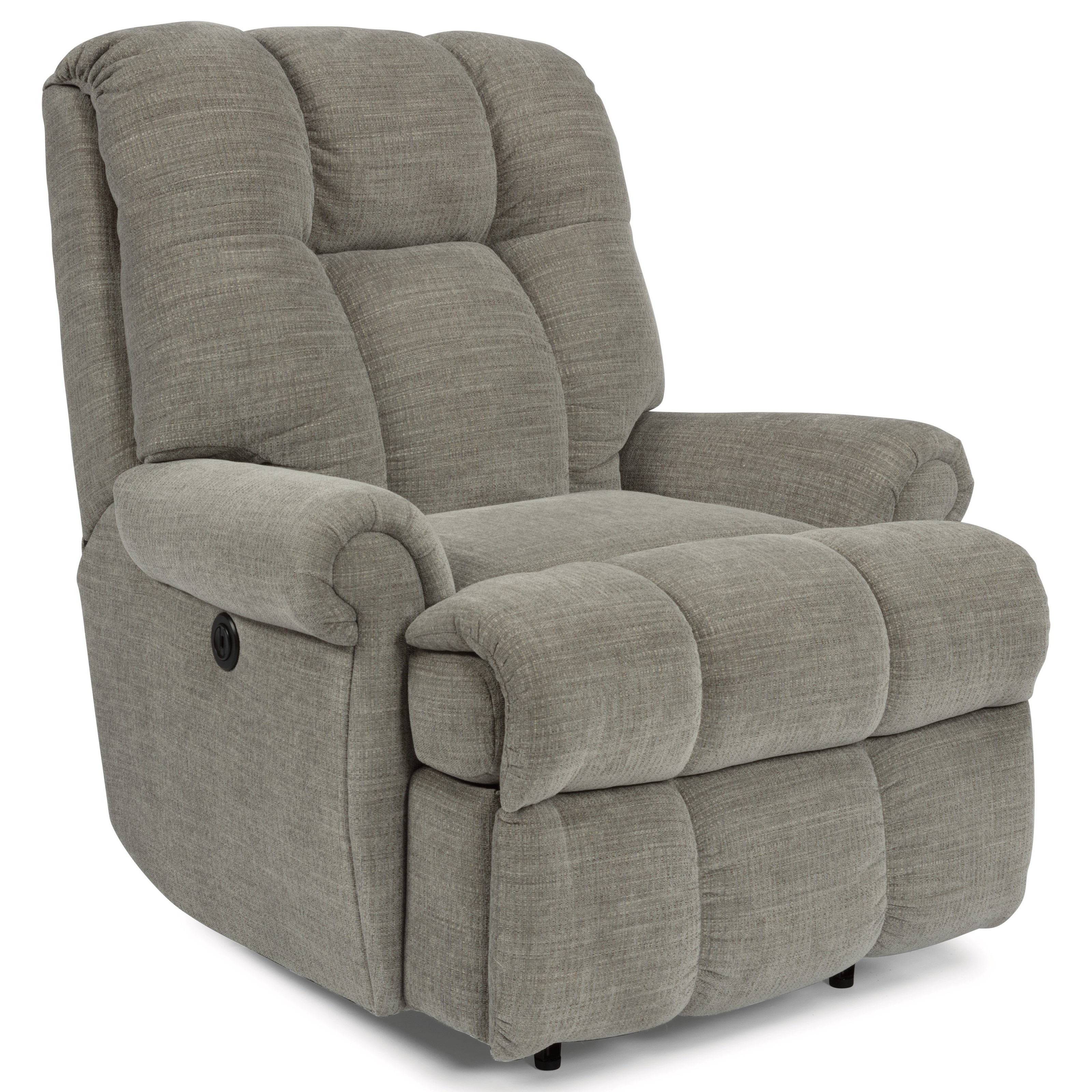 Accents Large Recliner with Power by Flexsteel at Goffena Furniture & Mattress Center