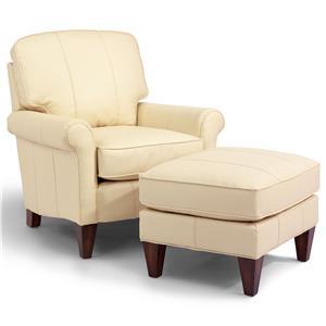 Harvard Chair and Ottoman Set