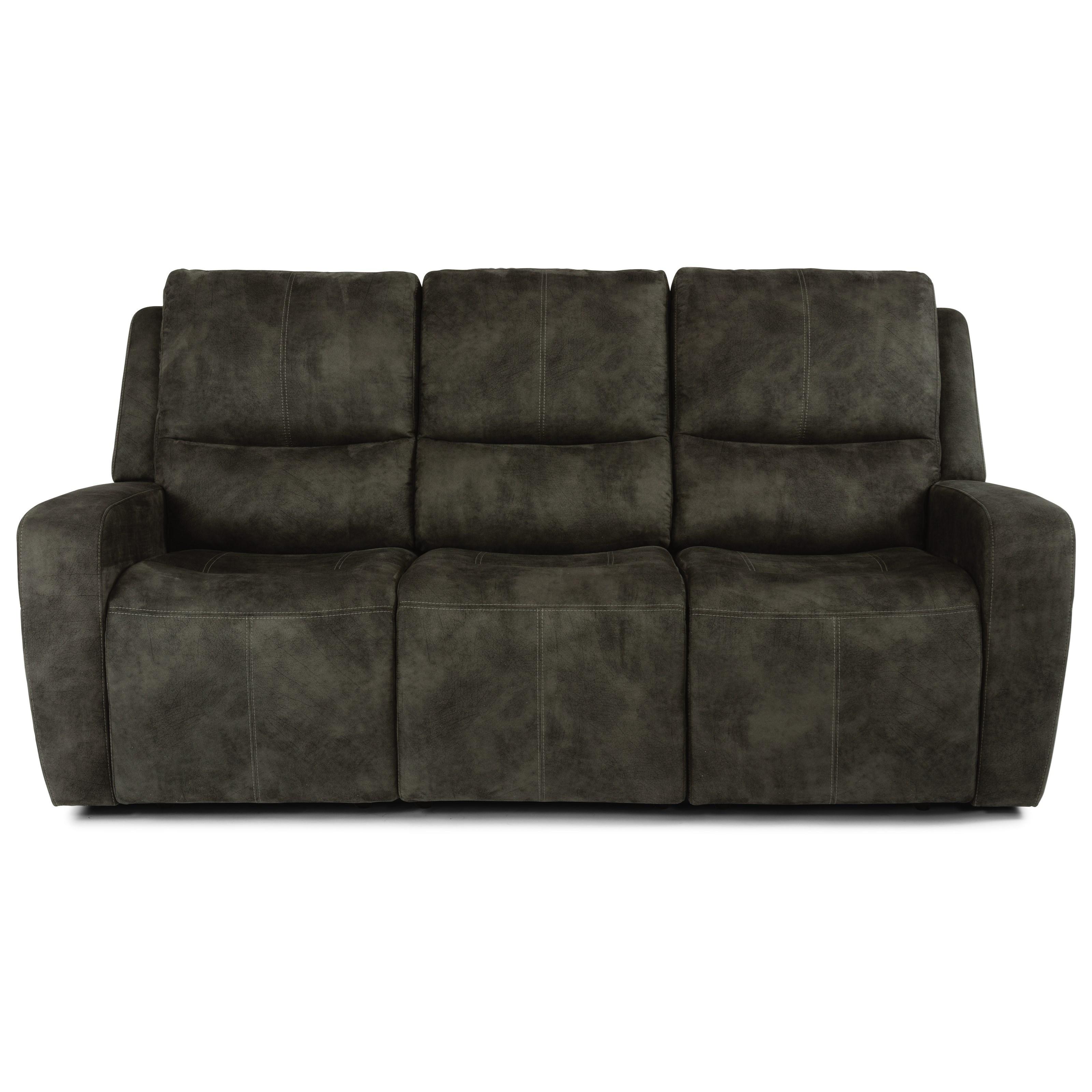 Latitudes - Aiden Power Reclining Sofa by Flexsteel at Mueller Furniture