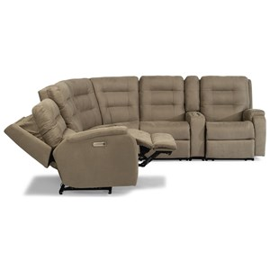 6-Piece Power Reclining Sectional