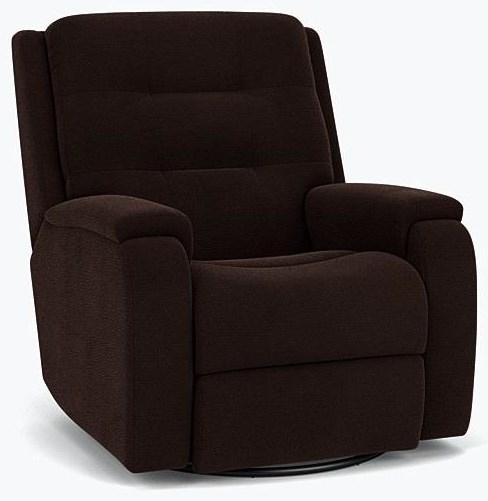 Guthrie Power Headrest and Lumbar Recliner by Flexsteel at Crowley Furniture & Mattress
