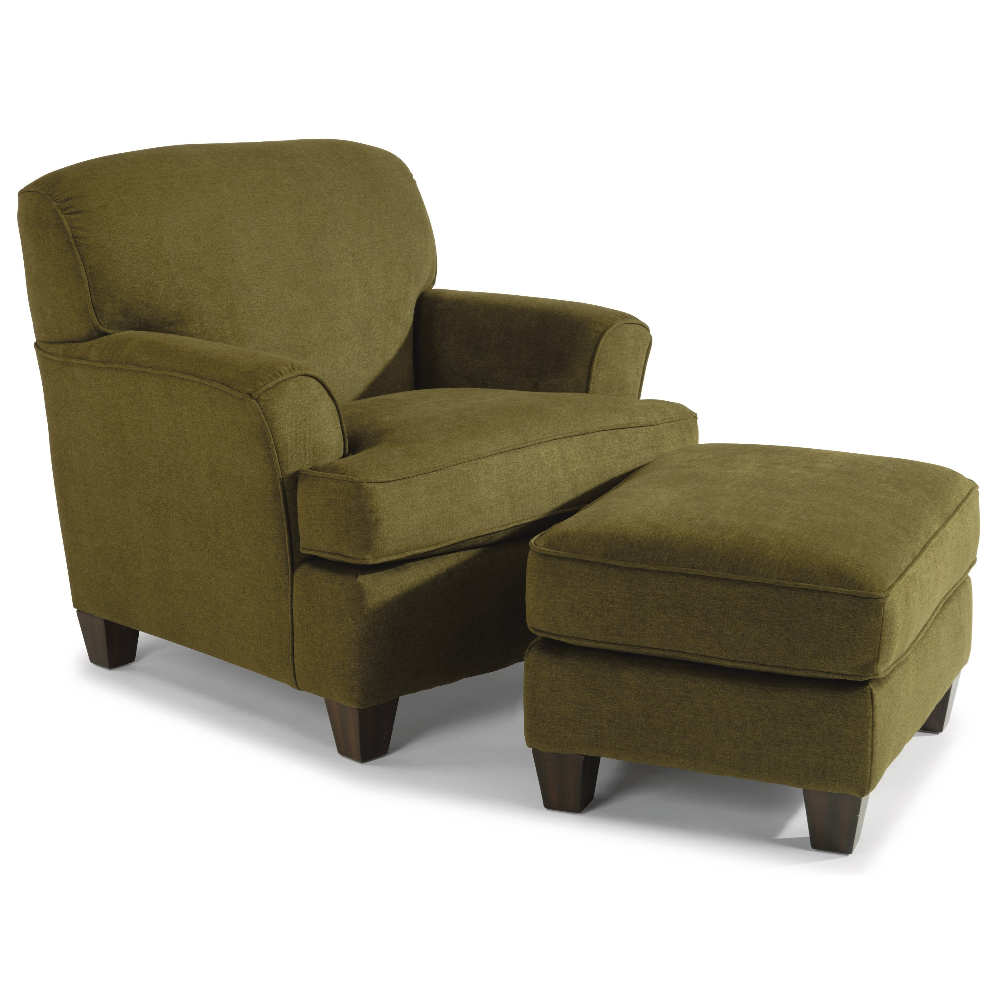 Atlantis Chair and Ottoman by Flexsteel at Williams & Kay