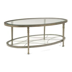 Flexsteel Atrium Oval Cocktail Table