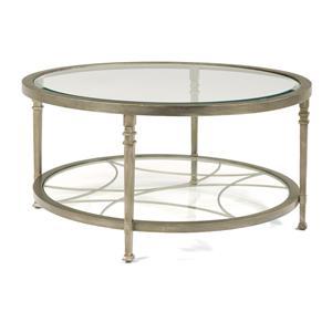 Flexsteel Atrium Round Cocktail Table