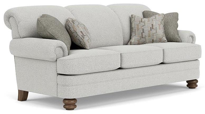 Fresca Sofa by Flexsteel at Crowley Furniture & Mattress