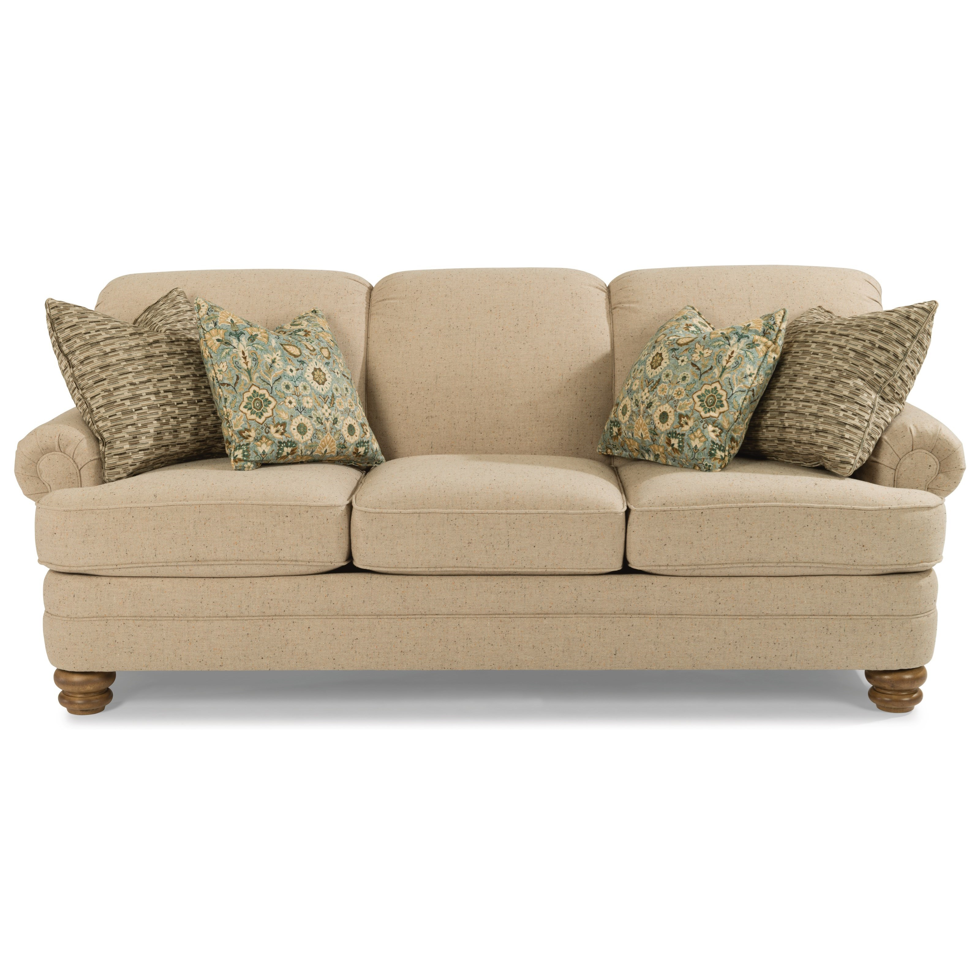 Bay Bridge Traditional Sofa by Flexsteel at Jordan's Home Furnishings