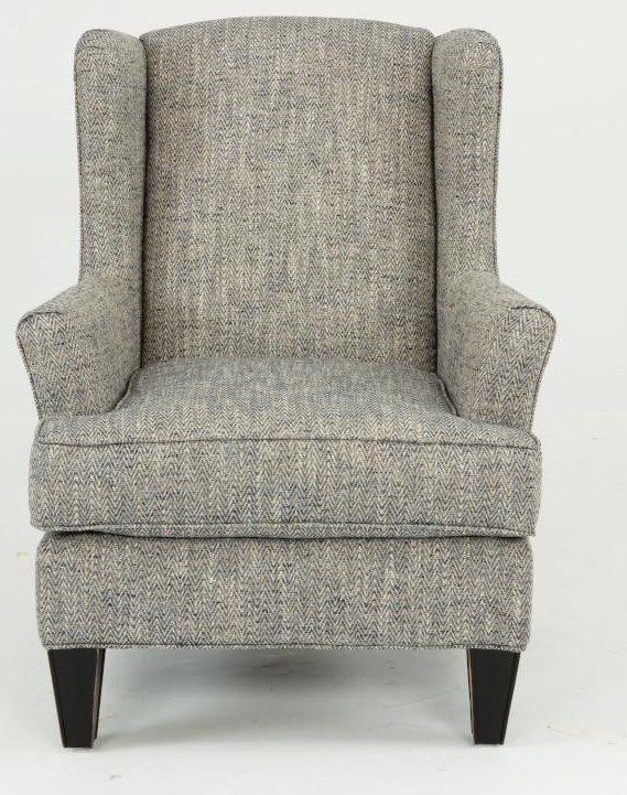 Dunn Wingback Chair by Flexsteel at Crowley Furniture & Mattress