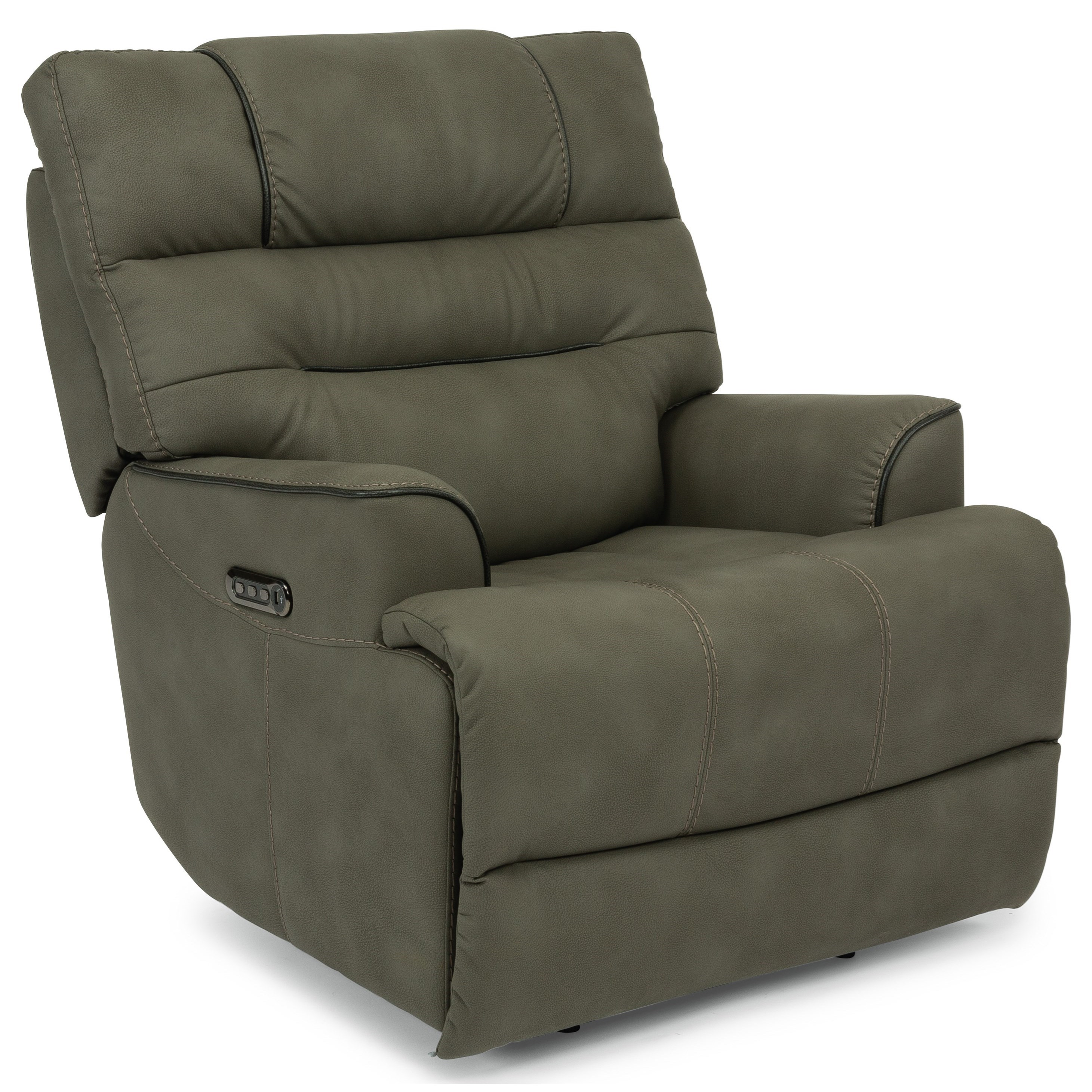 Latitudes - Brian Power Recliner by Flexsteel at Furniture and ApplianceMart