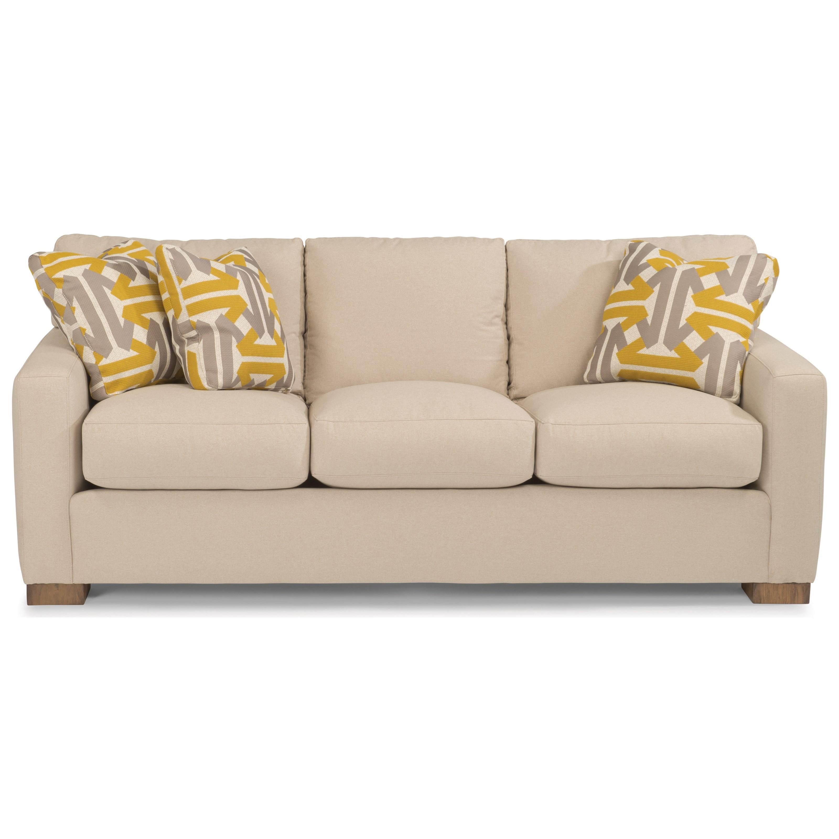 Landon Sofa by Flexsteel at Crowley Furniture & Mattress