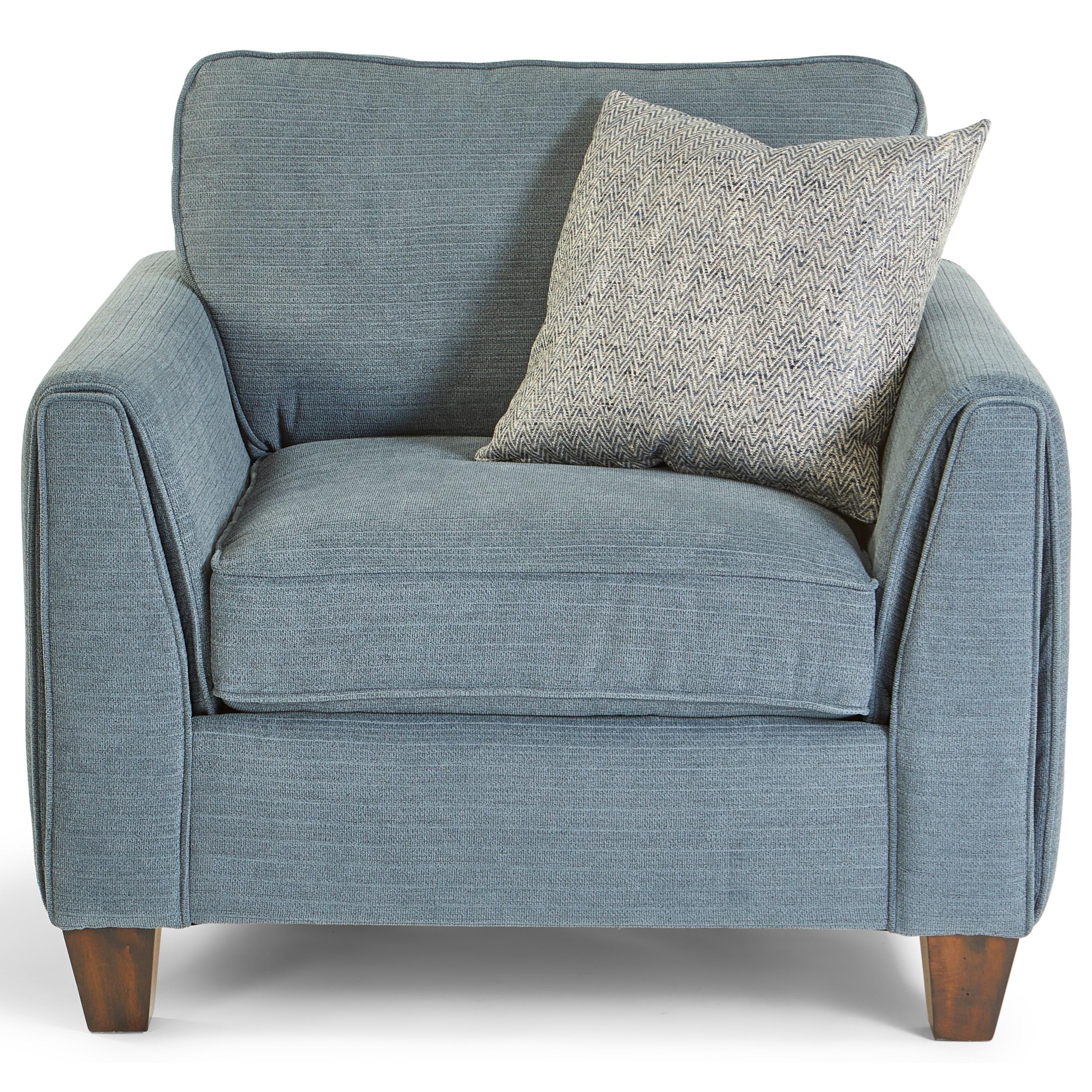 Bryce Arm Chair by Flexsteel at Jordan's Home Furnishings