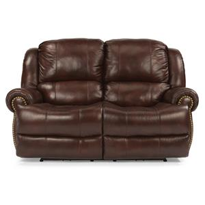Traditional Styled Power Reclining Loveseat